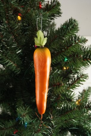 Fake Food Carrot Ornament
