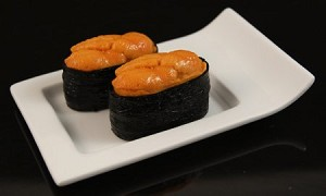 Fake Food Deluxe Sea Urchin - {uni} Sushi (pack of 2)