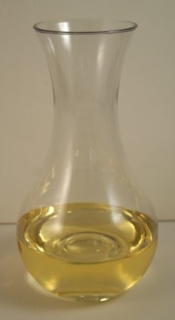 Fake Food White Wine Decanter In Acrylic Glass