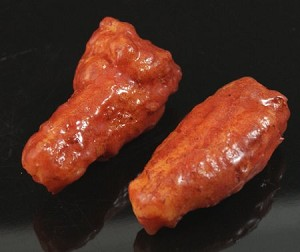 Fake Food Chicken Wings - (set of 2)
