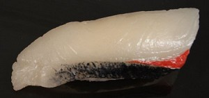 Fake Food Deluxe Yellowtail {hamachi} Sushi - One Piece
