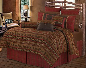 Cascade Lodge Luxurious Western Comforter Bedding Set
