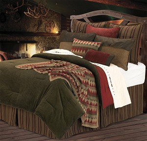 Wilderness Ridge Luxurious Western Comforter Bedding Set