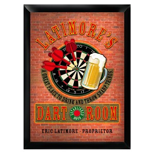Personalized Darts Pub - Bar Sign