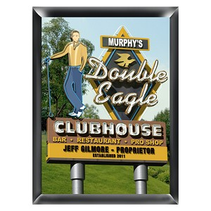 Personalized Marquee Double Eagle Traditional Sign