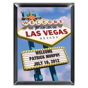Personalized Daytime Vegas Traditional Sign
