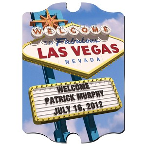 Personalized Daytime Vegas Vintage Sign