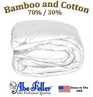Bamboo Duvet Cover XXL Twin White Color