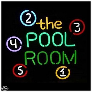 The Pool Room Neon Bar Sign