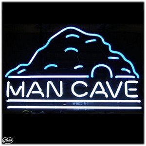 Man Cave Neon Bar Sign