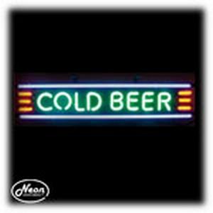 Cold Beer Neon Sculpture
