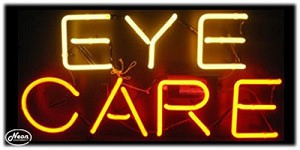 Eye Care Neon Business Sign