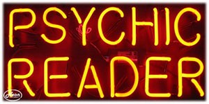 Psychic Reader Neon Business Sign