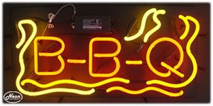 BBQ Neon Business Sign