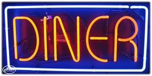 Diner Neon Business Sign
