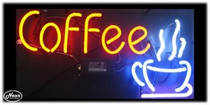 Coffee Neon Business Sign