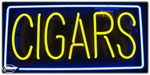 Cigars Neon Business Sign