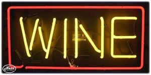 Wine Neon Business Sign