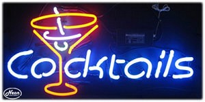 Cocktails Neon Business Sign
