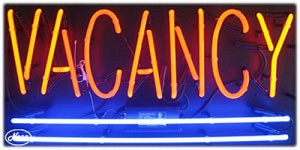 Vacancy Neon Business Sign