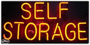 Self Storage Neon Business Sign