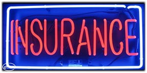 Insurance Neon Business Sign