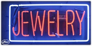 Jewelry Neon Business Sign