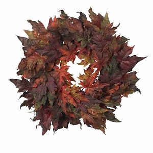"30"" Maple Leaf Wreath"
