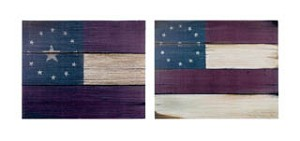 Stars and Stripes Canvas Set of 2