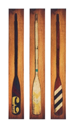 Oar Canvas Set of 3