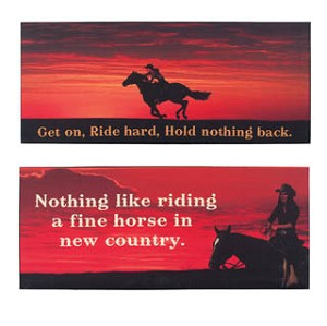 Sunset Ride Canvas Set of 2