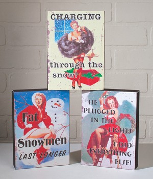 Sassy Season Canvas Set of 3