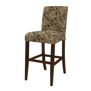 Autumn Tone Paisley Tapestry Slip Over for Bar Stool