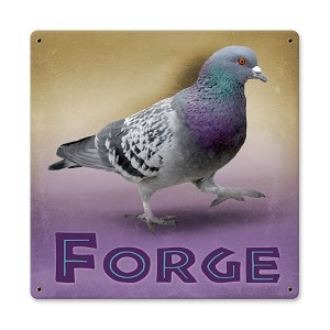 Pigeon Forge Vintage Metal Sign
