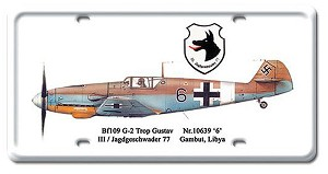 G-2 Trop Gustav Vintage Metal Sign