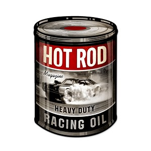 Racing Oil Vintage Metal Sign