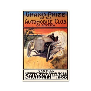 Original Savannah Vintage Metal Sign