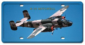 B-25 Mitchell Vintage Metal Sign