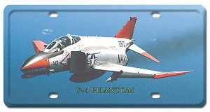 F-4 Phantom Vintage Metal Sign
