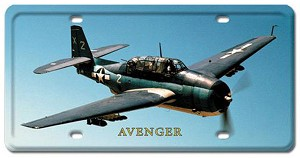 Avenger Vintage Metal Sign