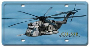 CH-53E Super Stallion Vintage Metal Sign