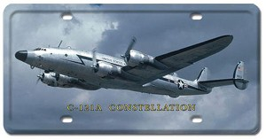 C-121A Constellation Vintage Metal Sign