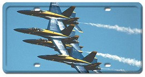 Blue Angels Vintage Metal Sign
