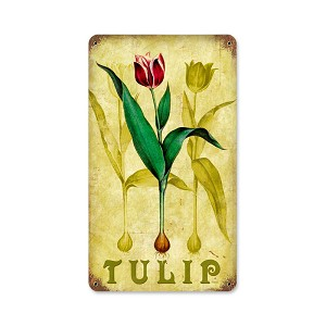 Tulip Vintage Metal Sign