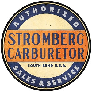 Stromberg Carbs Vintage Metal Sign