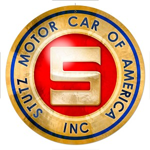 Stutz Motor Cars Vintage Metal Sign