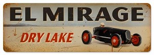 El Mirage Vintage Metal Sign