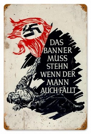 Das Banner Vintage Metal Sign