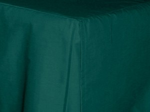 Twin Dark Teal Tailored Dustruffle Bedskirt