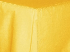 3/4 Three Quarter Golden Yellow Tailored Dustruffle Bedskirt